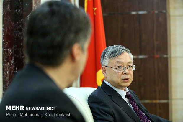 Exclusive interview with Chinese ambassador to Tehran