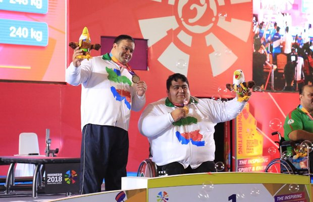 siamand rahman completes hat trick of golds at asian para games