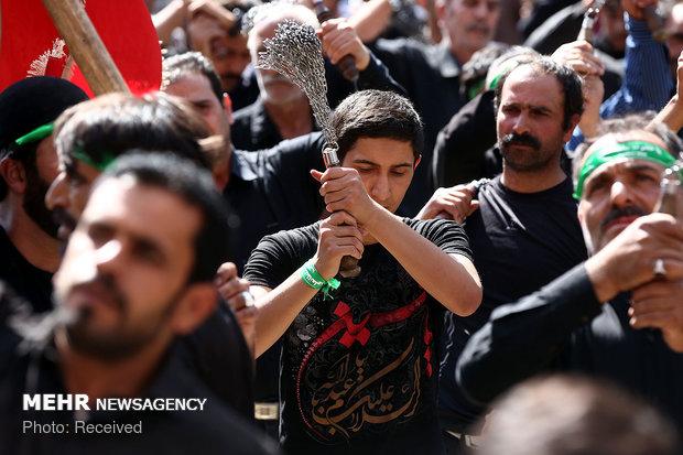 آیین سنتی مذهبی جمعه نشلجی ها در مشهد اردهال