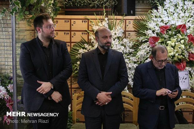مراسم ختم زنده یاد بهرام شفیع