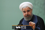 روحاني: سنتجاوز المشاكل التي سببها الأمريكان