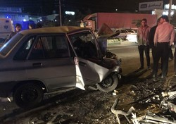 تصادف زنجیره ای ۵ خودرو در تبریز/ ۴ نفر زخمی شدند