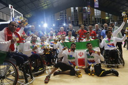 Iran's men's wheelchair basketball team champions of Asian Para Games