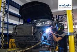 صافکاری حرفهای جهت تعمیر خودروهای ولوو