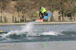 برتری نمایندگان تهران در مسابقات اسکی روی آب با قایق قهرمانی کشور