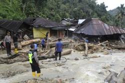انڈونیشیا میں سیلاب اور لینڈ سلائیڈنگ سے 27 افراد ہلاک