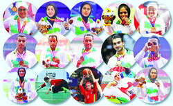 Iran record best ever showing at Asian Para Games