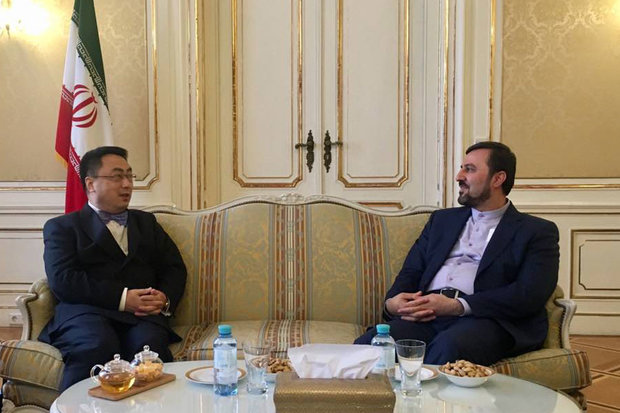 Iran, China stress cooperation on intl. arena