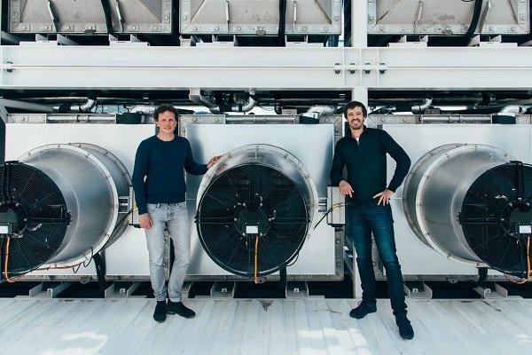 دی اکسید کربن هوا با یک دستگاه جدید جذب می شود
