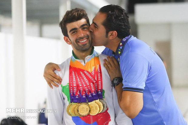 Shahin Izadyar, Iranian ace in Jakarta para-swimming