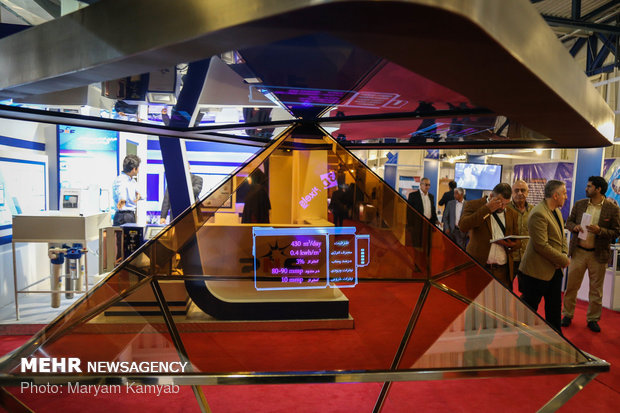 انطلاق الدورة الحادية عشر لمعرض طهران الدولي لتقنية النانو