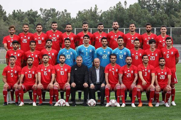 تیم ملی فوتبال وارد تهران شد