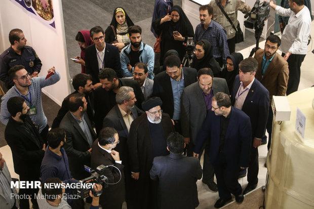 Former presidential contender visits start-ups exhibition