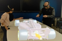 طراحی سه بعدی مهندسی با عینک های واقعیت افزوده