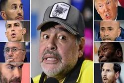 همه اظهار نظرهای جنجالی «مارادونا»/ ترامپ یک عروسک خیمهشببازی است!
