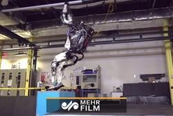 پارکور به روباتها رسید!