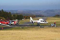 برخورد یک هواپیما با مردم هنگام فرود در آلمان ۳ کشته برجای گذاشت