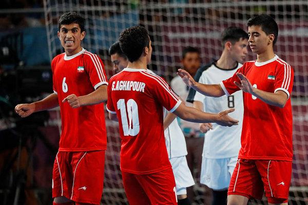 برد پرگل و بی ثمر تیم فوتسال المپیک ایران مقابل کاستاریکا