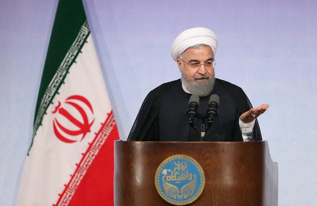 Ruhani: Siyasi açıdan ABD'yi yenmeyi başardık
