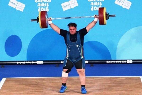 """اولمبياد الشباب: الرباع الايراني """"يوسفي"""" يتوج بذهبية وزن 85 كلغم"""