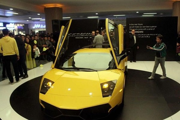 VIDEO: Iran's reverse-engineered Lamborghini unveiled