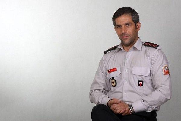 آتشسوزی ساختمان مسکونی در خیابان فلاح تهران/ نجات ۴ نفر