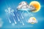 آسمان قم شامگاه دوشنبه بارانی میشود