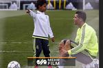 تکنیک دیدنی و تماشایی پسر رونالدو در زمین فوتبال!