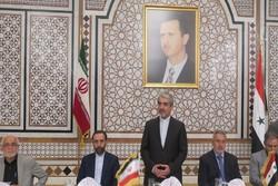 Iranian envoy calls for boosting Tehran-Damascus economic ties