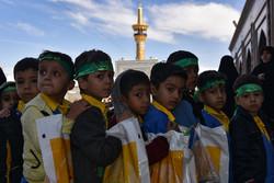 مشہد مقدس میں حسینی غنچوں کی تقریب