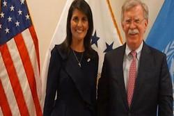 هیلی و بولتون ۲ جانشین احتمالی وزیر دفاع آمریکا پس از برکناری