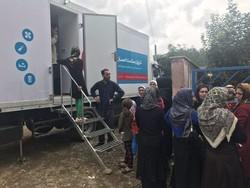 خدمات کاروان سلامت احسان به مردم سیلزده استانهای شمالی