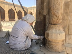 Restoration underway on Atiq mosque in Shiraz