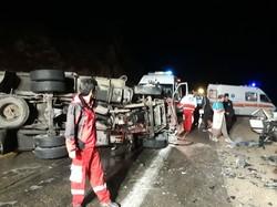 تصادف زنجیرهای در اسلامآبادغرب/ زوار آسیبی ندیدهاند