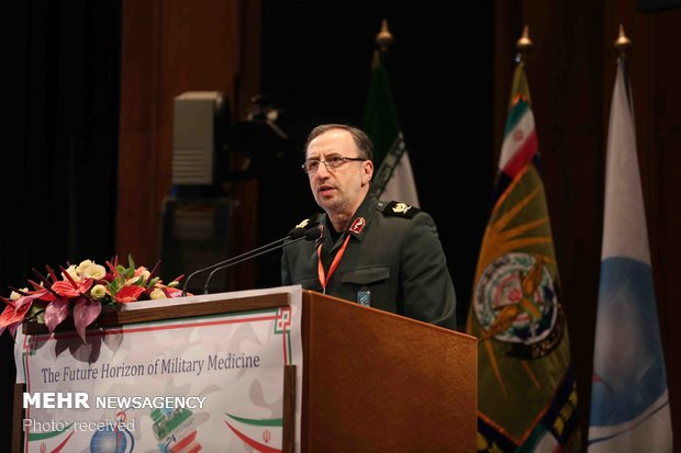IRIB hosts 4th Intl. Military Medicine Congress