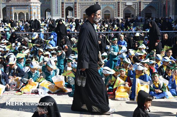 مراسم غنچه های حسینی در مشهد