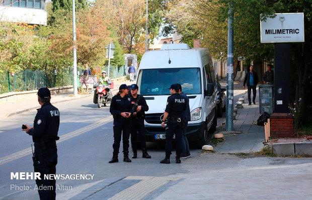 وضعیت سفارت ایران در ترکیه