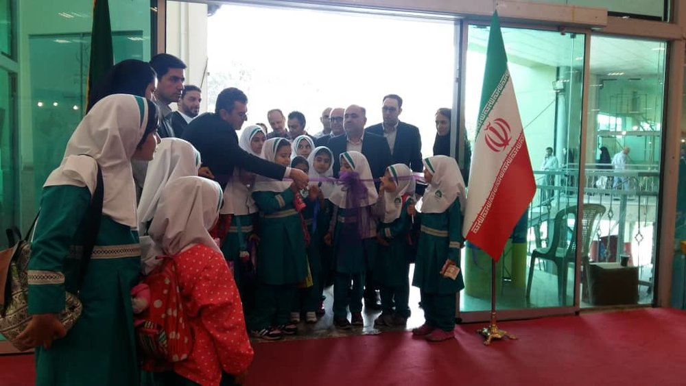 اولین نمایشگاه دنیای اسباببازی و سرگرمی افتتاح شد