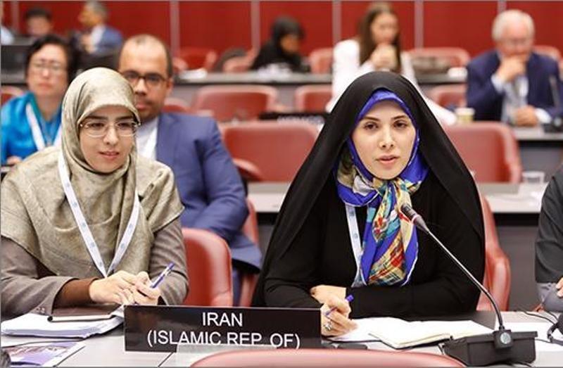 Female Iranian MP elected as member of IPU presiding board
