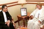 Jaberi Ansari, Omani FM talk Yemen war in Muscat