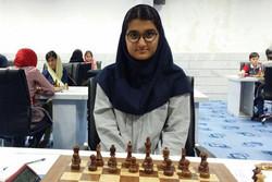 تساوی مبینا علینسب در دور سوم مسابقات شطرنج قهرمانی جهان