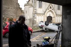 خسارات سیل در فرانسه