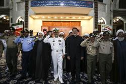 تجدید میثاق مسئولان سازمان عقیدتی سیاسی ارتش باآرمانهای امام(ره)