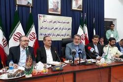 برگزاری جلسه ستاد اربعین با حضور وزیر کشور در مهران