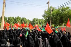 تجمع ۲۰ هزار نفری مردم کرج در پیادهروی جاماندگان اربعین