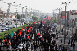 Shia Muslims hold Arbaeen mourning rituals