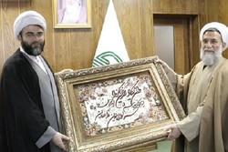 حجتالاسلام عباس محمدحسنی با رئیس سازمان تبلیغات اسلامی دیدار کرد