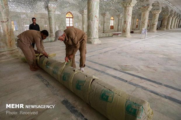 Irak'ın kutsal kenti Necef Erbain merasimine hazırlanıyor