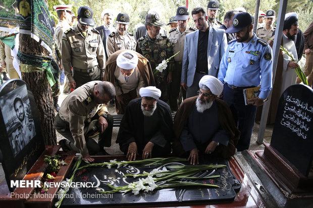 مراسم الاحتفال بذكرى تأسيس المنظمة العقائدية السياسية في الجيش الايراني
