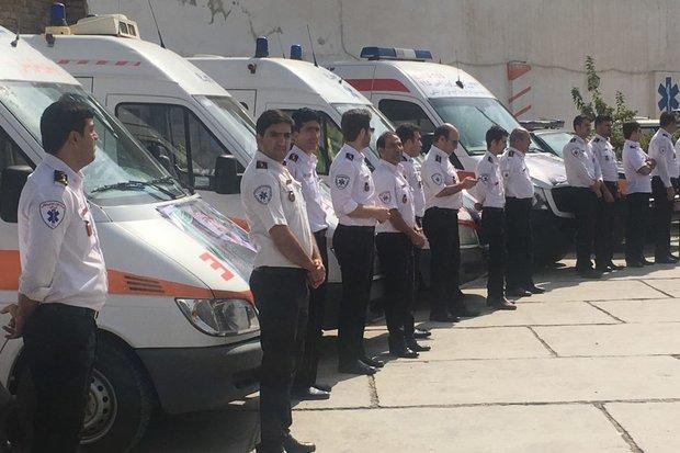 فوریتهای پزشکی و مراکز بهداشتی درمانی اندیمشک آماده باش هستند
